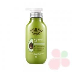 FRESHPOP Шампунь питательный с экстрактом овса и авокадо Double Nutritoin Avocado Shampoo