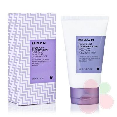 MIZON Пенка для умывания чувствительной кожи Great Pure Cleansing Foam