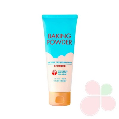 ETUDE HOUSE Очищающая пенка для снятия ББ-крема с содой Baking Powder B.B Deep Cleansing Foam