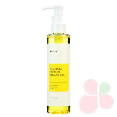 iUNIK Успокаивающее гидрофильное масло с календулой Calendula Complete Cleansing Oil