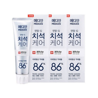 MEDIAN Отбеливающая зубная паста Median toothpaste white