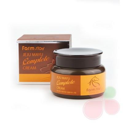 FARMSTAY Комплексный питательный крем Jeju Mayu Complete Cream