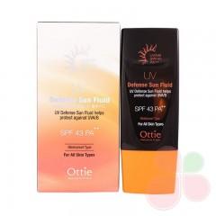 OTTIE Солнцезашитный крем UV Defense Sun Fluid SPF43/PA+++