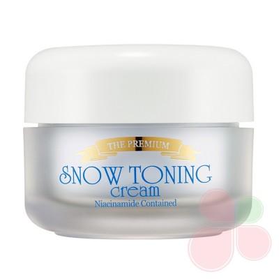 SECRET KEY Осветляющий крем для лица The Premium Snow Toning Cream