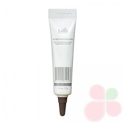 LADOR Пилинг для кожи головы Scalp Scaling Spa Ampoule