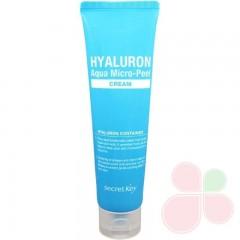 SECRET KEY Гиалуроновый крем для увлажнения и омоложения кожи Hyaluron Aqua Micro-Peel Cream