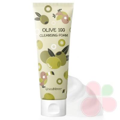 SEANTREE Кремовые пенки для умывания с маслом оливы Olive Cleansing Foam