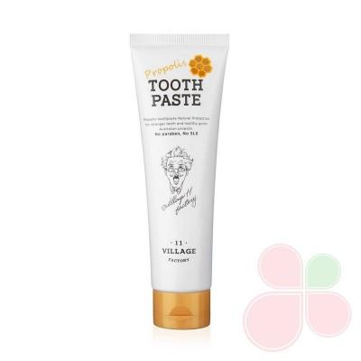 VILLAGE 11 FACTORY Антибактериальная зубная паста с прополисом Propolis Toothpast