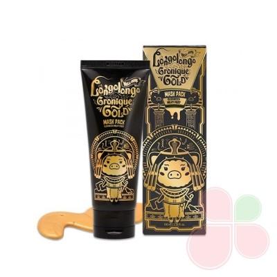 ELLIZAVECCA Золотая омолаживающая маска с пептидами Milky Piggy Hell-Pore Longo Longo Gronique Gold